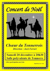 concert Noël Tonnerre